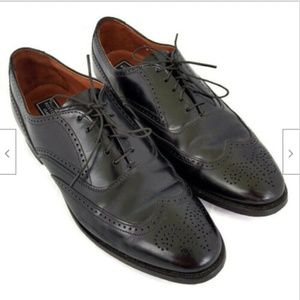 Bostonian black leather oxfords lace ups 9 D